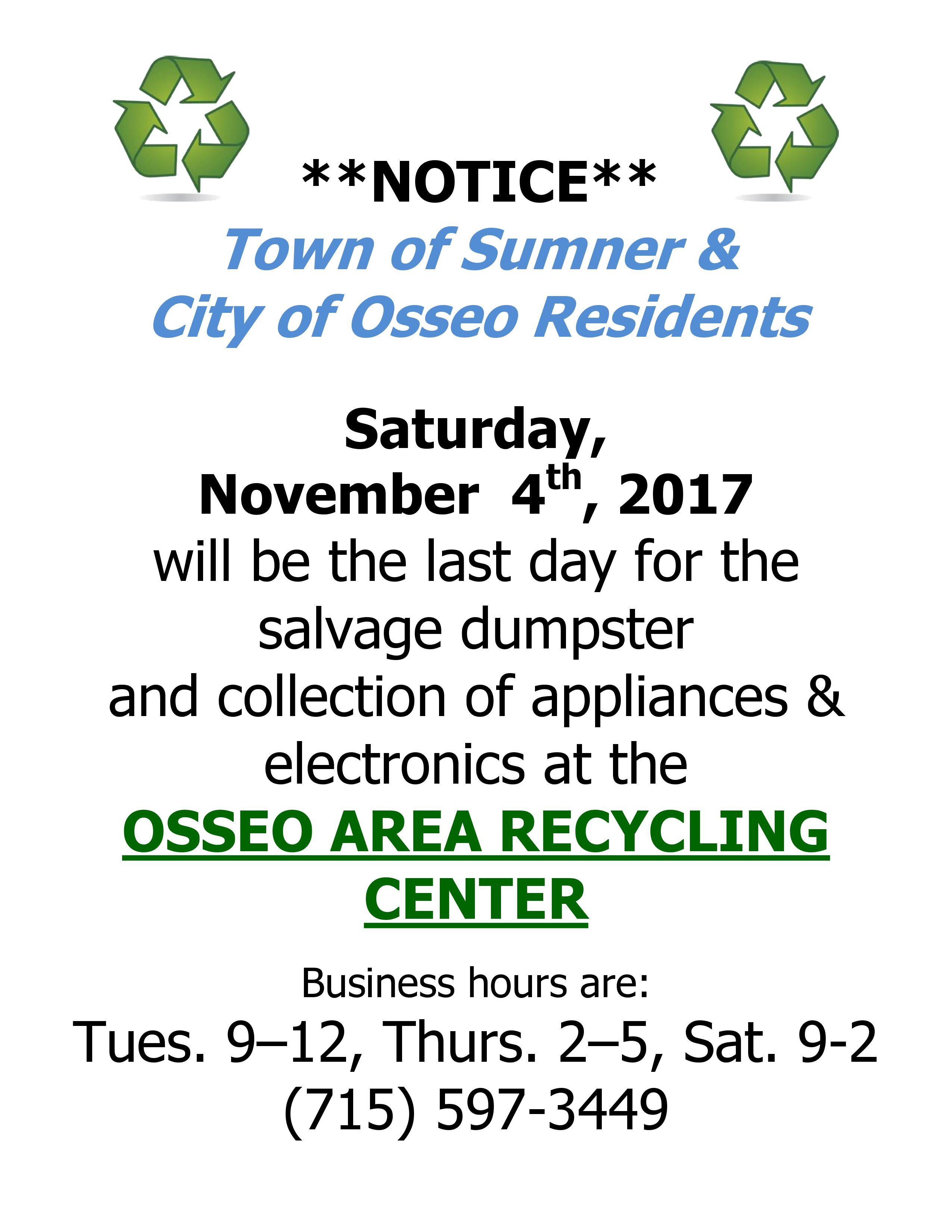 city of osseo trempealeau county wi official website of the